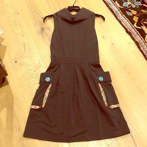 Matilda Jane Brown Dress Jumper with Pockets